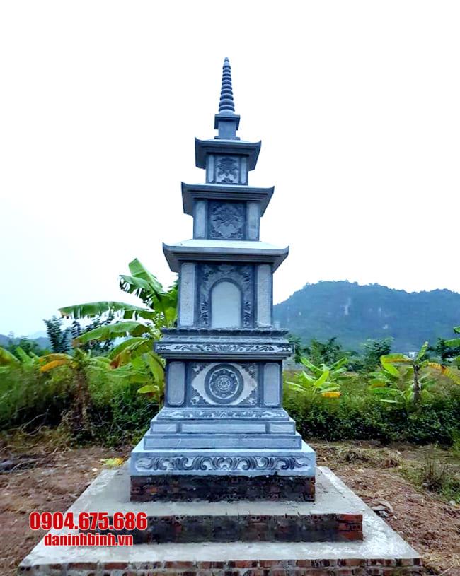 mẫu mộ tháp đá đẹp tại Bình Định