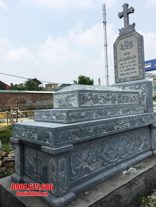 mộ đá cho người theo đạo đẹp