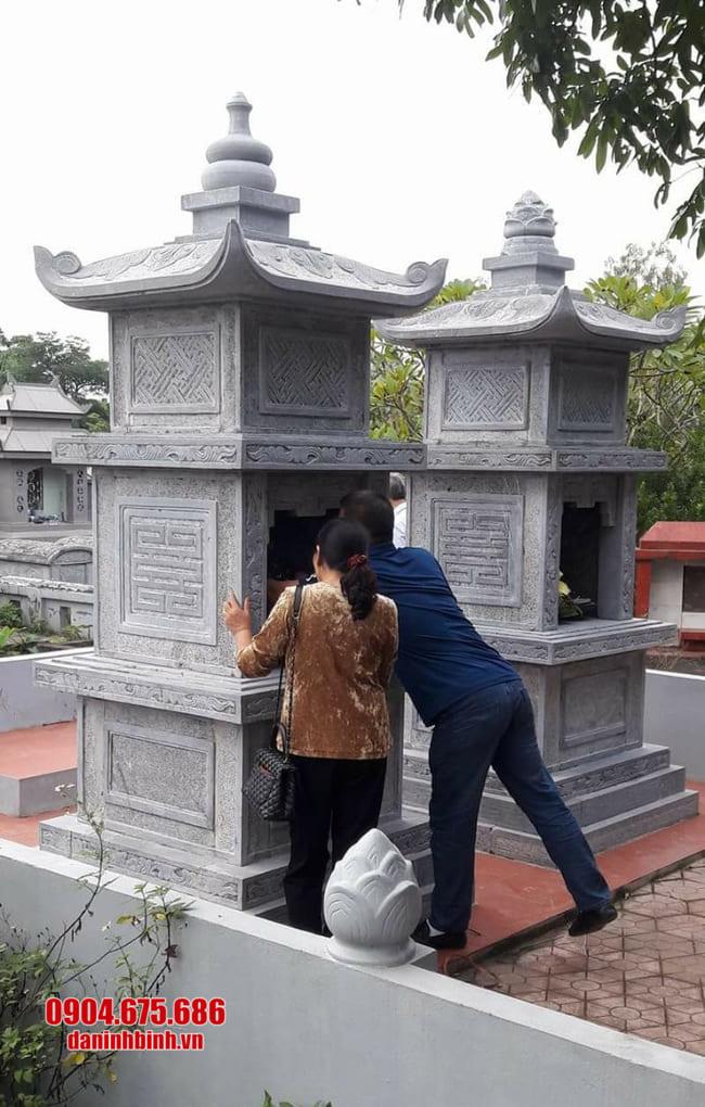 mộ tháp đá tại Bình Định