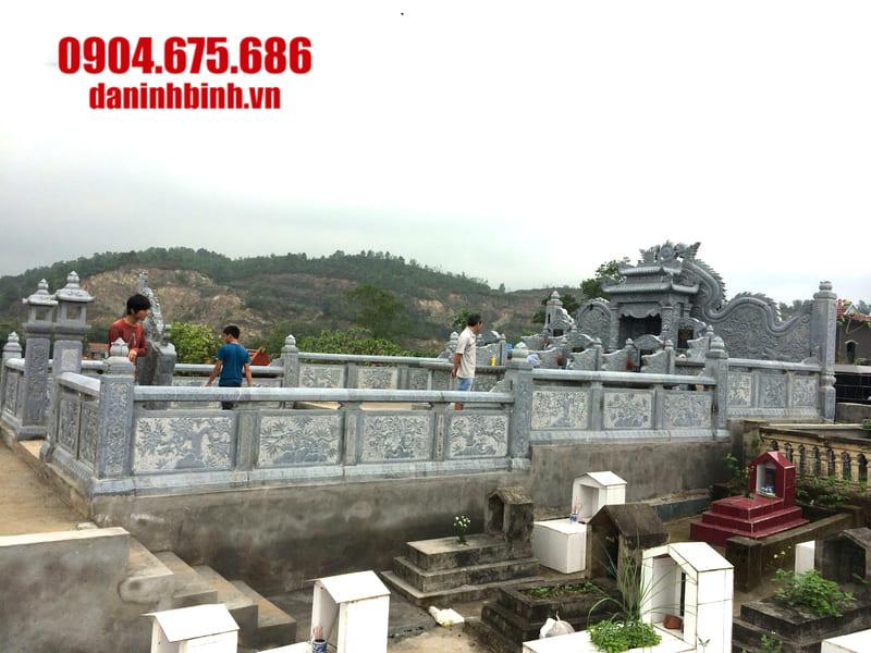 Báo giá khu lăng mộ đá đẹp tại Ninh Vân