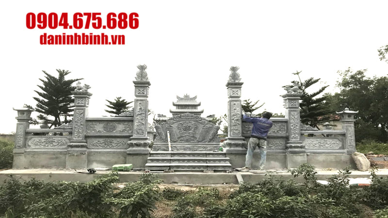 Cơ sở lắp đặt lăng mộ đá uy tín tại Ninh Vân