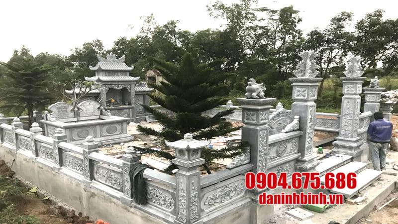 Đặc điểm của lăng mộ bằng đá khối