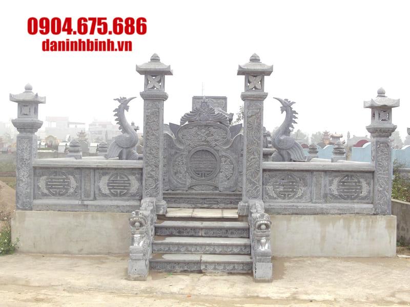 Đặc điểm lăng mộ đá đẹp tại Ninh Vân