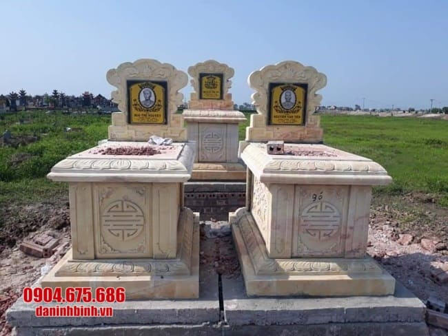 Địa chỉ bán mộ đá uy tín, chất lượng tại Ninh Vân