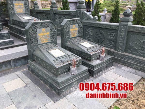 Địa chỉ lắp đặt, xây dựng khu lăng mộ đá uy tín tại Ninh Vân