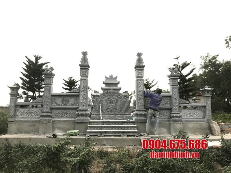 Địa chỉ thiết kế, lắp đặt khu lăng mộ đá uy tín