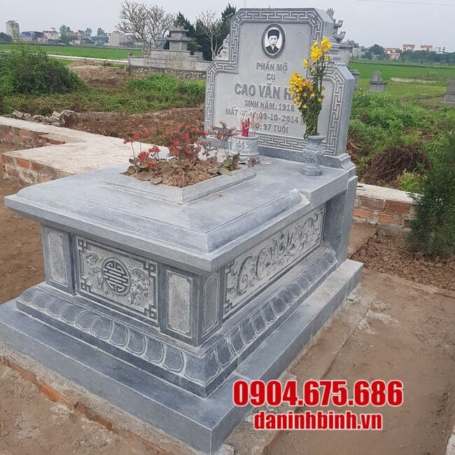 Địa chỉ thiết kế, lắp đặt mộ đá uy tín, chất lượng tại Ninh Vân