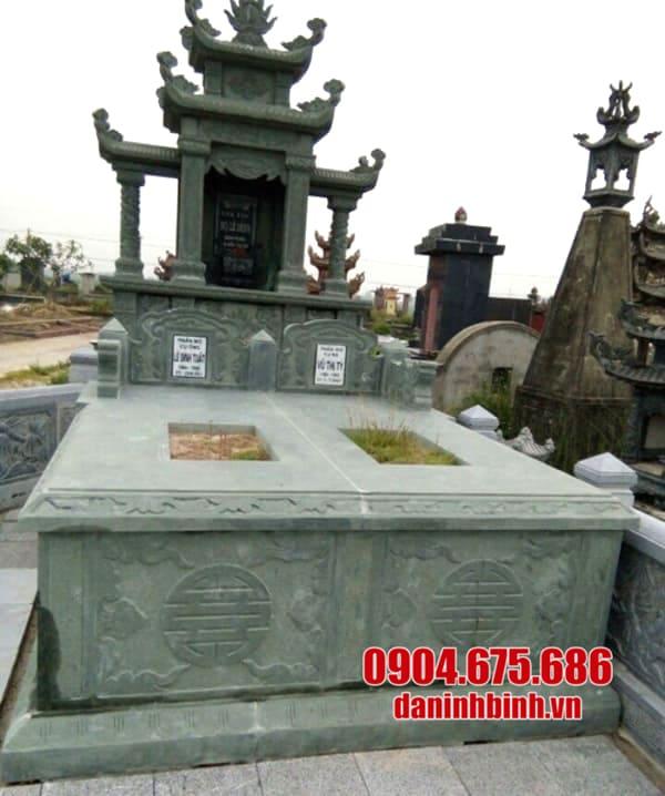 Giá thành của khu lăng mộ đá xanh rêu