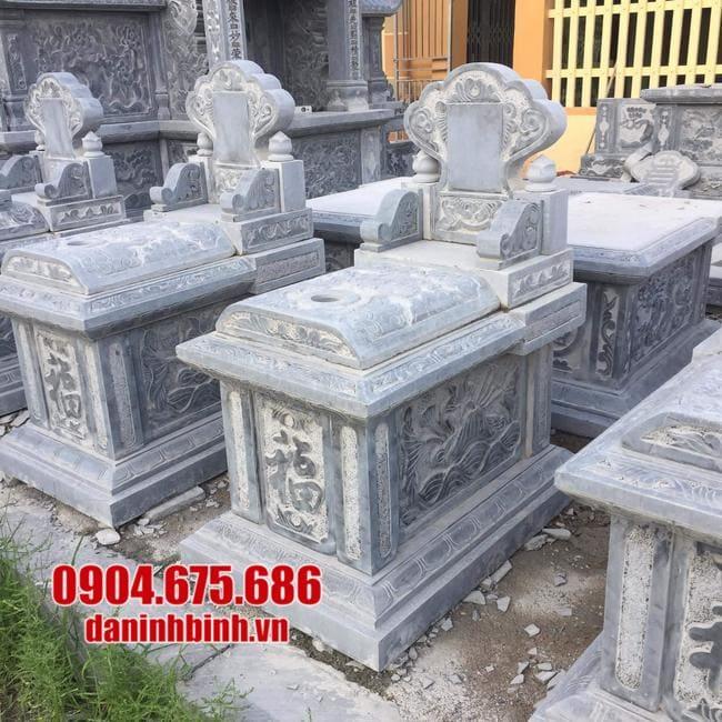 Giá thành mộ tam sơn đá mới nhất hiện nay