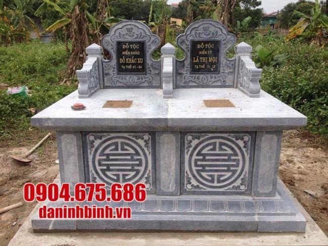 Kích thước mộ đá tam sơn chuẩn theo phong thủy