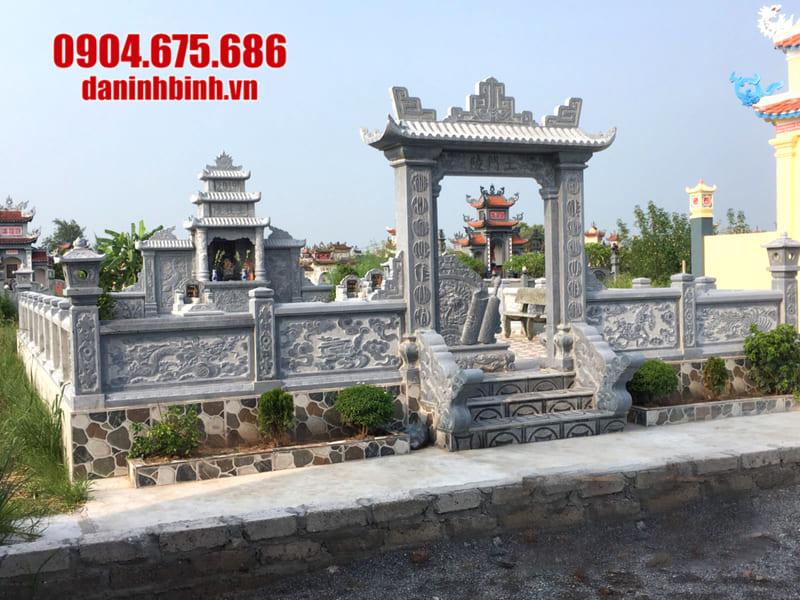 Những hình ảnh lăng mộ đẹp tại Ninh Vân