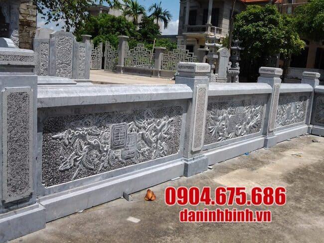 Top các mẫu lan can đẹp bằng đá xanh cao cấp tại Ninh Vân