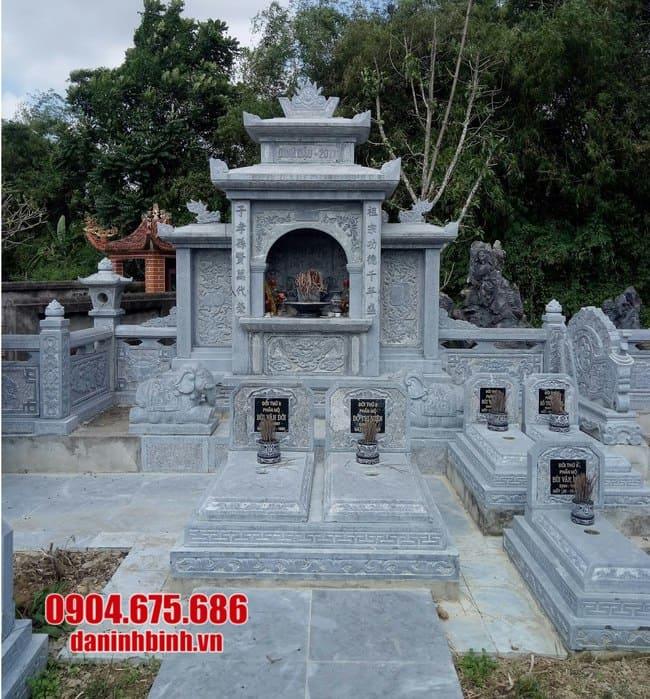 mẫu khu lăng mộ bằng đá đẹp nhất tại Bình Định