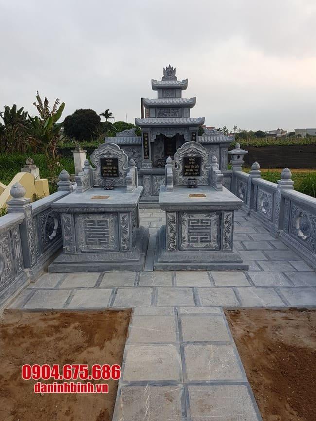mẫu khu lăng mộ đá tại Bình Định