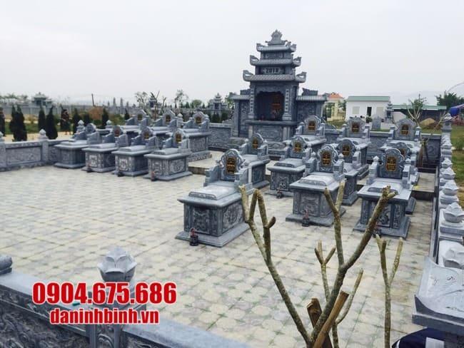 mẫu lăng mộ đá đẹp tại Bình Định