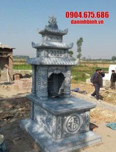 Địa chỉ bán mộ đá ba mái uy tín, chất lượng tại Ninh Vân