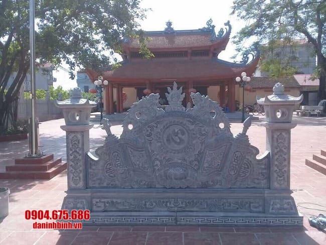 mẫu cuốn thư bằng đá tại Bắc Ninh đẹp nhất