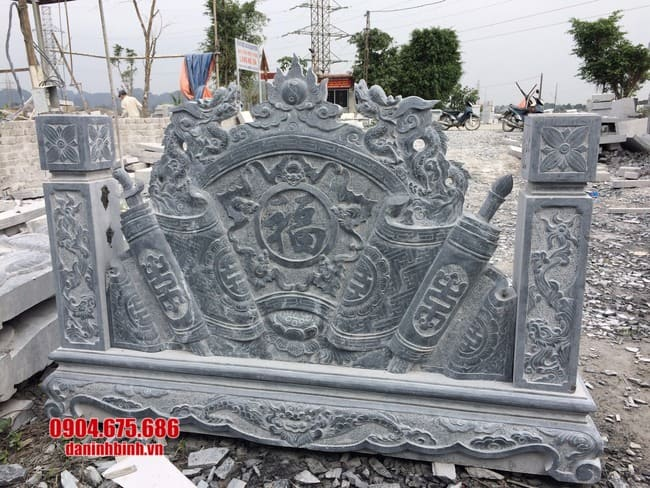 mẫu cuốn thư đá đẹp tại Quảng Ninh