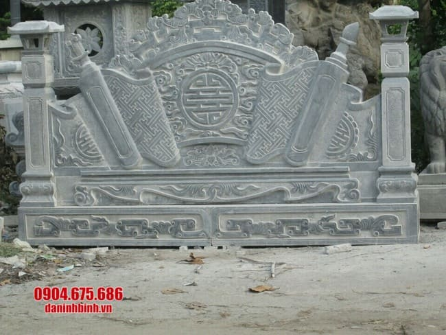 mẫu cuốn thư đá tại Quảng Ninh