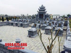 mẫu khu lăng mộ bằng đá đẹp nhất tại Phú Yên