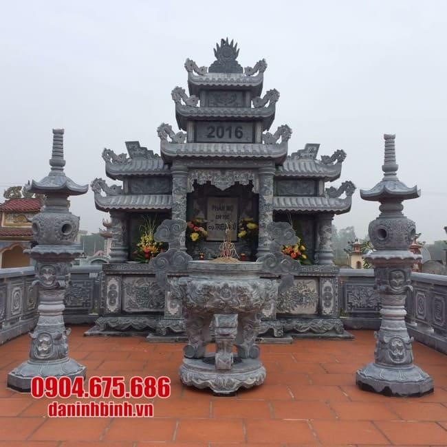mẫu khu lăng mộ đá tại Phú Yên đẹp nhất