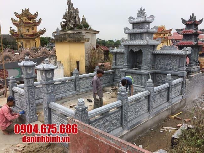 mẫu khu lăng mộ đá tại Phú Yên đẹp