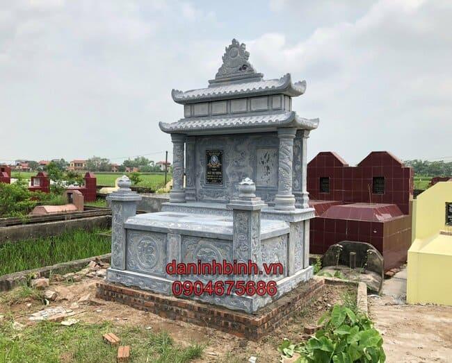 mộ đôi đá mỹ nghệ tại Khánh Hoà đẹp nhất