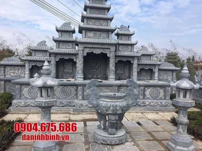 khu lăng mộ đá đẹp tại Khánh Hoà