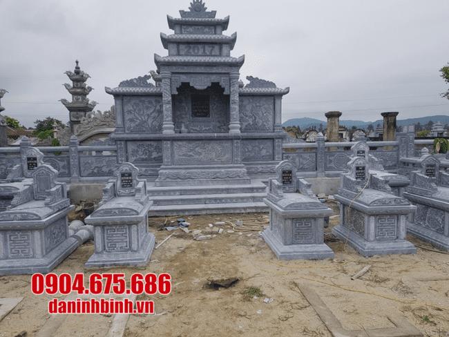 khu lăng mộ đá tại Khánh Hoà đẹp