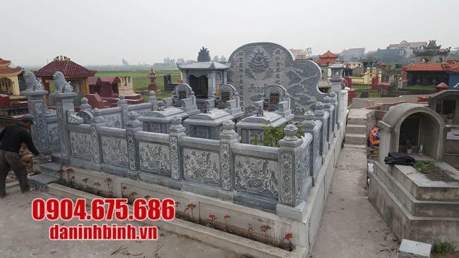 khu lăng mộ tại Khánh Hoà