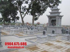 mẫu khu lăng mộ bằng đá đẹp nhất tại Ninh Thuận