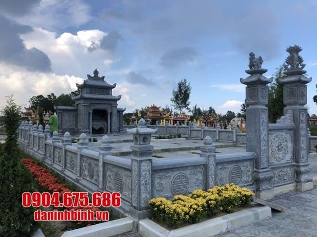 mẫu khu lăng mộ đá tại Khánh Hoà đẹp