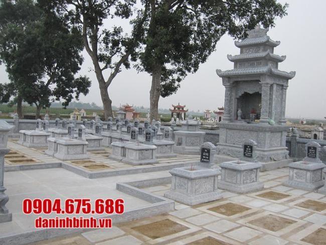 mẫu khu lăng mộ đá tại Khánh Hoà