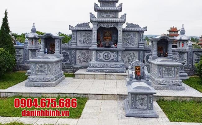 mẫu lăng mộ đá tại Khánh Hoà