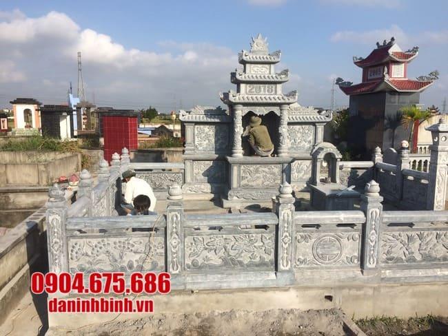 mẫu lăng mộ tại Khánh Hoà