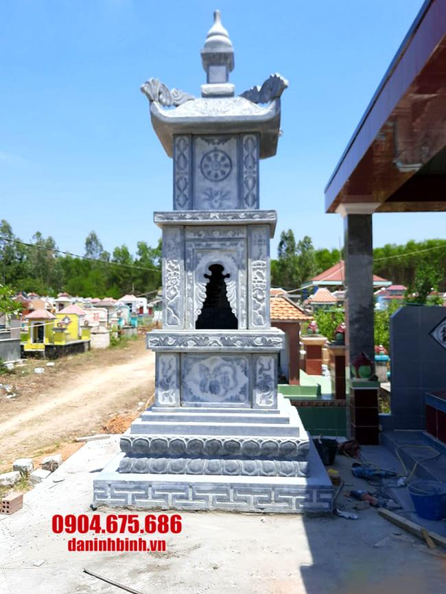 Tháp mộ để hũ tro cốt tại An Giang đẹp