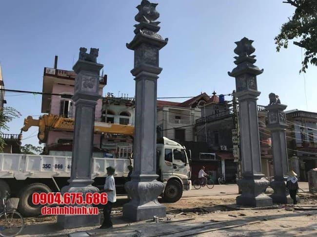 các mẫu cổng nhà thờ họ đẹp tại Hải Dương