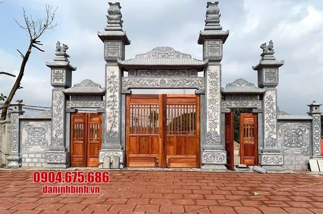 cổng đá đẹp tại Vĩnh Phúc