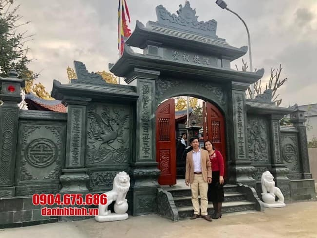 cổng tam quan đá đẹp nhất tại Hà Nam