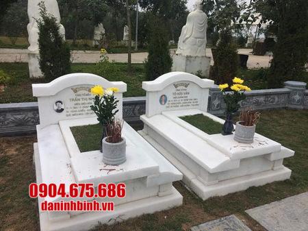 Bán mộ đôi bằng đá tại Phú Yên - Các mẫu mộ đá đôi đẹp tại Phú Yên