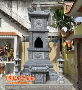 Bán tháp mộ đá đẹp tại Đồng Tháp - Mộ tháp để tro cốt tại Đồng Tháp