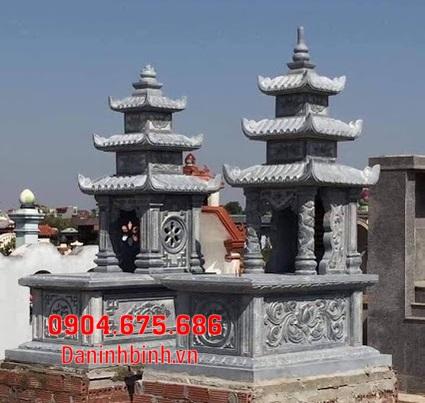 Những mẫu mộ đôi đẹp tại Bình Thuận - Xây mộ đôi bằng đá tại Bình Thuận