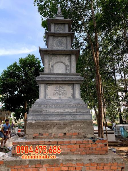 Mẫu tháp mộ đẹp bằng đá được ưa chuộng tại Vũng Tàu