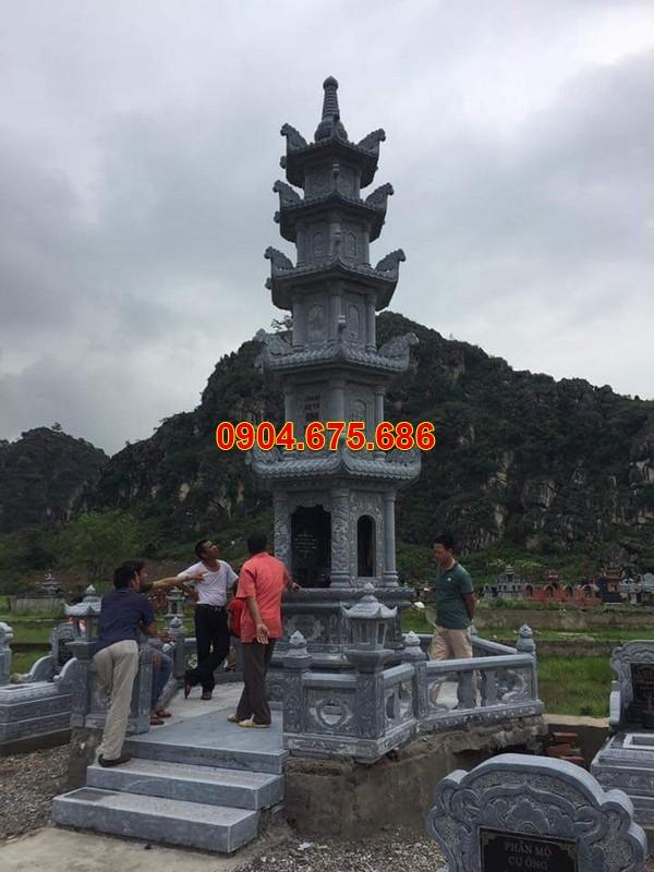 Mẫu tháp mộ đẹp bằng đá tại Vĩnh Long