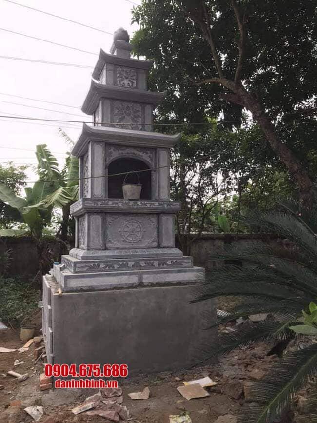 Xây tháp mộ đá tại Bến Tre đẹp nhất