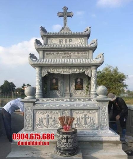 mộ đôi bằng đá tại Phú Yên đẹp