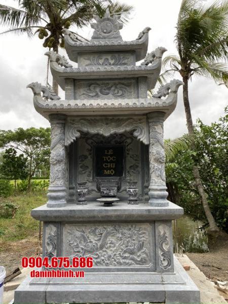 mộ đôi bằng đá tại Phú Yên