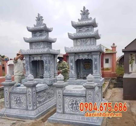 mộ đôi đá đẹp nhất tại Cần Thơ