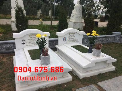 mộ đôi đẹp tại Bình Thuận - Xây mộ đôi bằng đá tại Bình Thuận 2