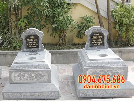 mộ đôi tại Cà Mau mẫu đẹp